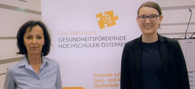 Mag. Waltraud Sawczak begrüßte Mag. Sabine Katzdobler