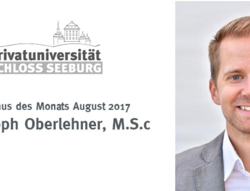 Alumnus des Monats – August 2017