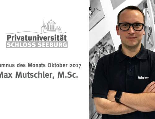 Alumnus des Monats – Oktober 2017