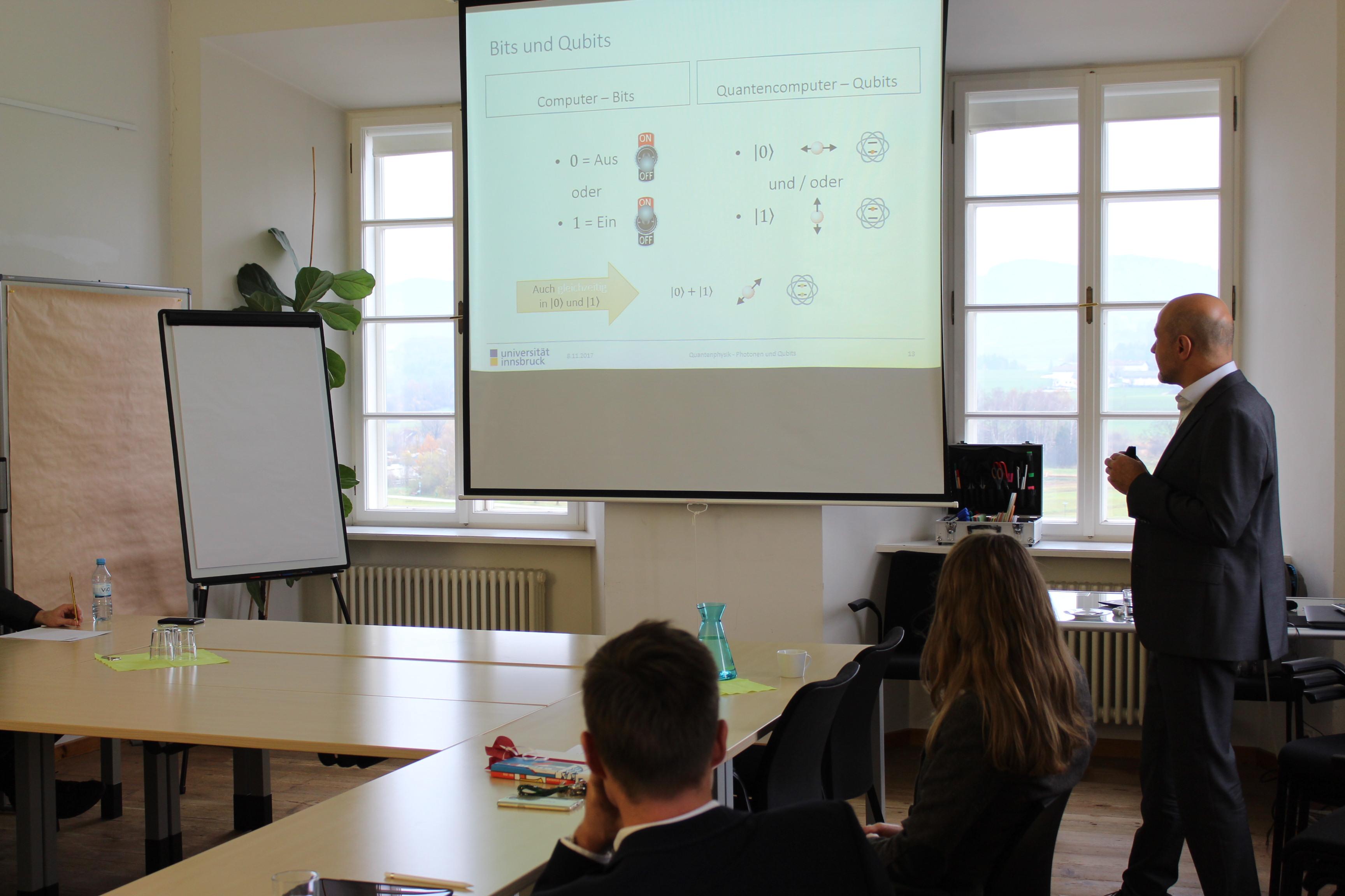 Forschungsseminar mit Univ.-Prof. Mag. Dr. Gregor Weihs