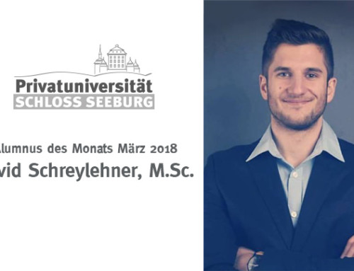 Alumnus des Monats – März 2018