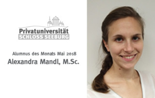 Absolventin Alexandra Mandl