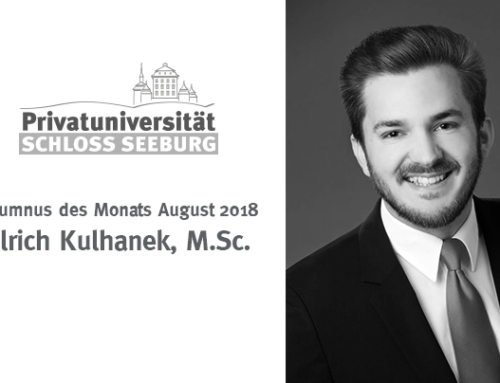 Alumni des Monats – August 2018