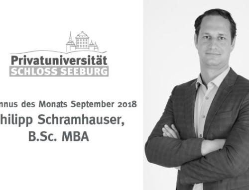 Alumni des Monats – September 2018