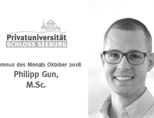 Alumni des Monats – Oktober 2018